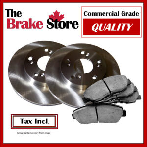 Toyota Corolla 2012 Front Brakes and Rotors Kit