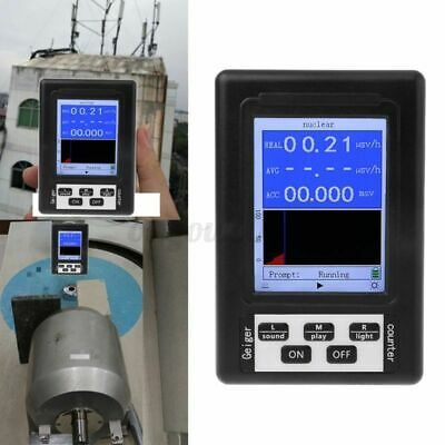 Upgraded Geiger Counter Nuclear Radiation Detector Y X-ray Monitor Meter