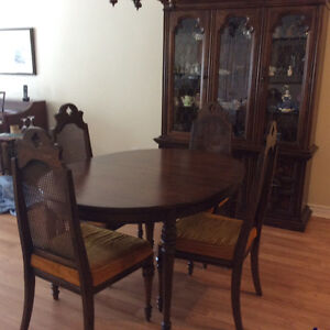 New deal dining room table and hutch
