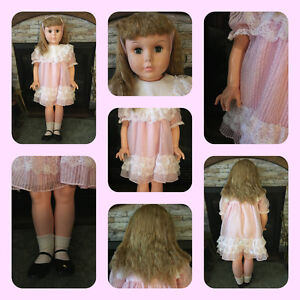 "36"" Walker Doll - Unidentified Manufacturer (Uneeda?) circa 1960 London Ontario image 1"