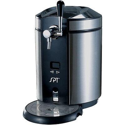 Stainless Steel 5 Liter Mini Kegerator Dispenser Heineken Keg Draft Beer Party