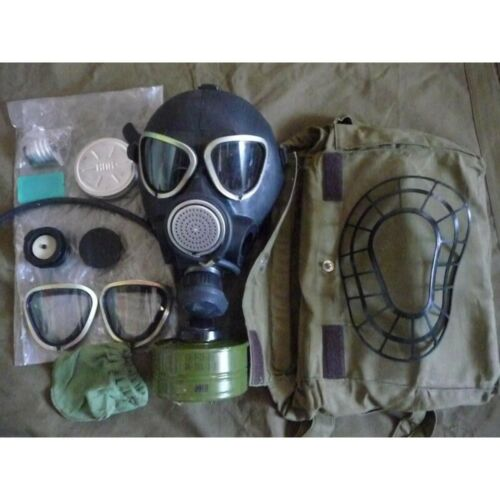 PMK Gas Mask Full Set USSR and Russian Army Original (Steam punk)