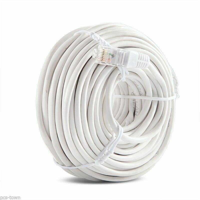 Funlux/Zmodo™ 50ft sPoE NVR RJ45 Camera Cable 1st Generation W-SP015