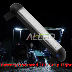 Battery Operated Velcro Back Portable Exterior Interior Led Bimini Strip Light Ebay