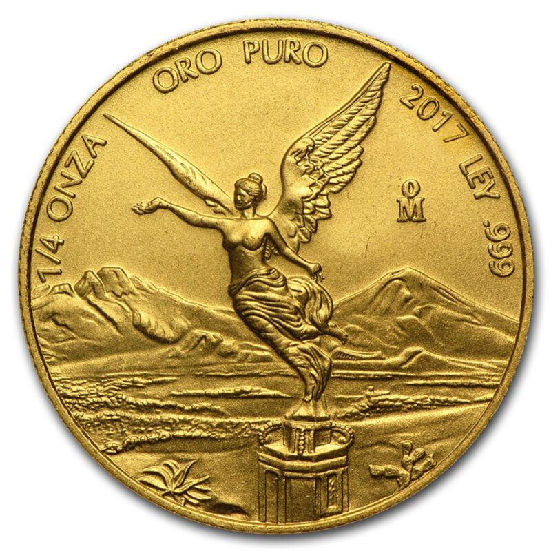 2017 Mexico 1/4 Oz Gold Libertad Bu - Sku#150442