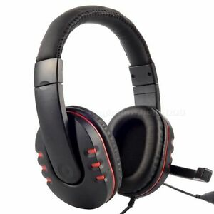Gaming Headset for PlayStation 3 PS3 PC Laptop Lidcombe Auburn Area Preview