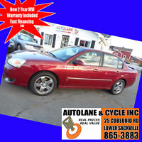 2006 Chevrolet Malibu LTZ Leather Loaded Sunroof Sharp Car Bedford Halifax Preview