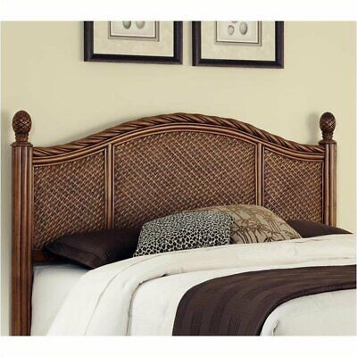 king panel headboard in cinnamon