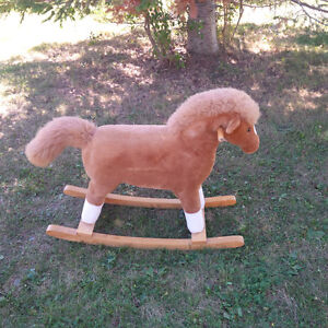 PLUSH ROCKING HORSE Kingston Kingston Area image 1