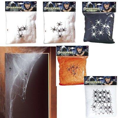 SPINNENNETZ Deko Spinnengewebe Halloween Spinnennetze verschiedene Modelle ()