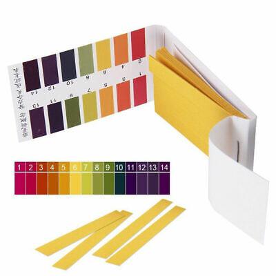 80-800pcs Ph Test Strips Alkaline Acid 1-14 Paper Litmus Tester Lab Urine Saliva