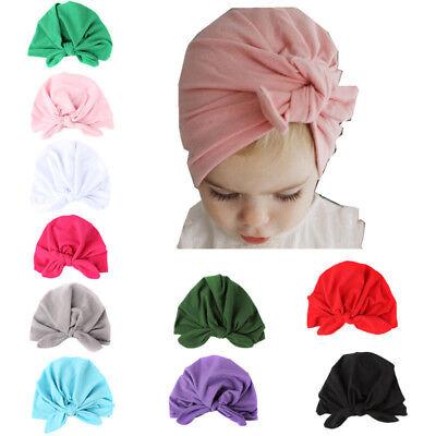 Accessories For Boys (Autumn Winter Velvet Baby Hat For Girls Boys Newborn Turban Cap Head)