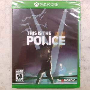 This is the Police II Xbox One Game - NEW