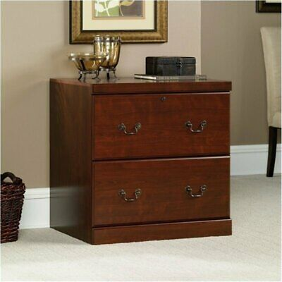Classic Cherry 2 Drawer (Bowery Hill 2 Drawer Lateral Wood File Cabinet in Classic Cherry )