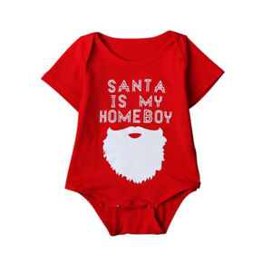 NEW! Santa is my Homeboy baby onesie - Multiple sizes available!