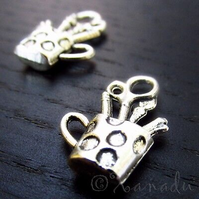 Wholesale Craft Supplies (Craft Supplies Cup Charm Wholesale Pendant Findings C4722 - 10, 20 Or)