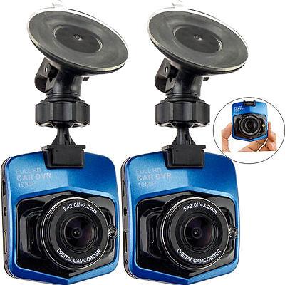 2x 1080P 120°Full HD Night Vision Car DVR Vehicle Camera Video Recorder Dash Cam