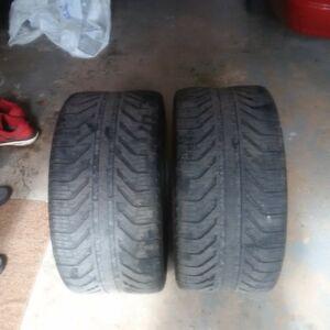 285 30 19 Michelin tires - CHEAP