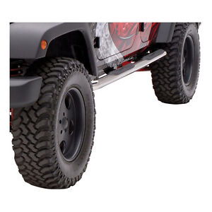 MARCHE-PIEDS STAINLESS - JEEP 07-17