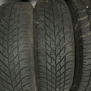 4 Snow tires and 2 all season tires