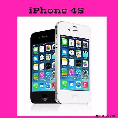 APPLE IPHONE 4S GSM for AT&T or prepaid StraightTalk AT&T SMARTPHONE cell