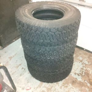 LT295/75R16 BF Goodrich All Terrain tires