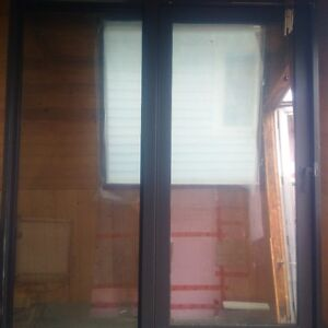 For Sale Double Pane Glass Patio Door