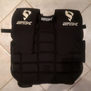 STX Junior Box Lacrosse Goalie Uppers - CLA Catagory 1 - NEW
