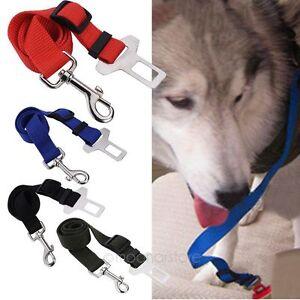 Mascota-Cinturon-De-Seguridad-amp-Malla-Arnes-Collar-Cachorro-Perro-Coche