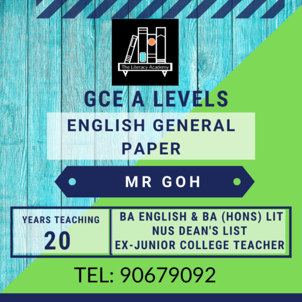 General Paper Tuition (all locations)