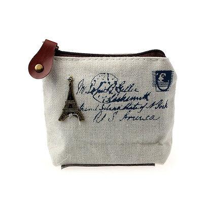 Women Girl Envelope Clutch Canvas Handbag Purse Tote Ladies Student Bag Satchel