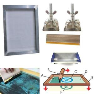 Start Hobby Screen Printing Kit Simple Press Tools 006804