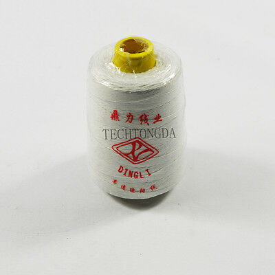 New Heavy Duty White Sewing Thread For Portable Bag Closer 10 Cones 170761