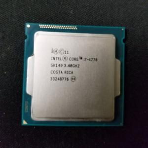 i7-4770 CPU Processor