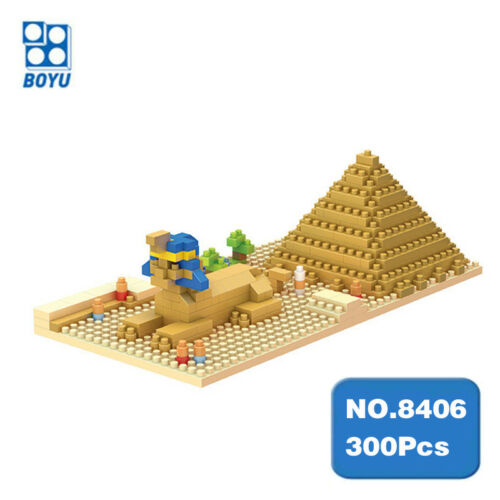 15Pcs Building Blocks Diamond Pyramid Shape Learn Kids Play Fun Toy Set Gift