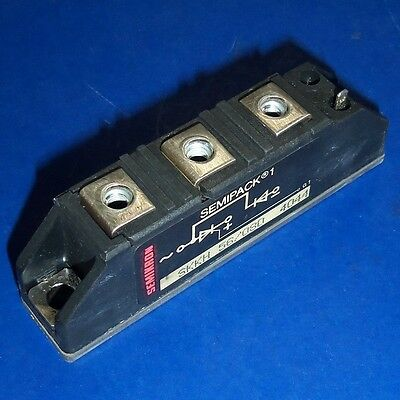 Semikron Semipak 1 Power Diode Module Skkh 5680d 4044 Pzf