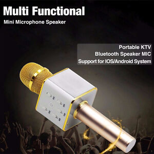 New Microphone with Bluetooth speaker