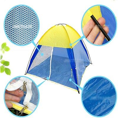 3person Sun Shade Mosquito Net Canopy Tent Beach Fishing Leisure Camping Shelter