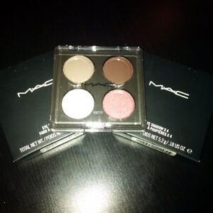 Brand New In Box Mac Cosmetics Eyeshadow Quad Palette