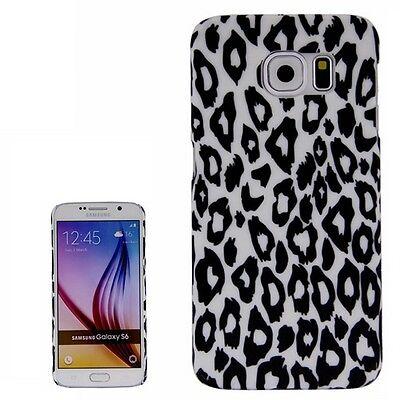 Hardcase Hülle Cover Case Schutzhülle für Samsung Galaxy S6 Leopard Muster Leopard Hard Case Cover