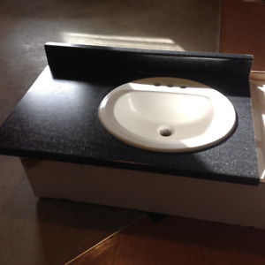 Counter top and sink for sale