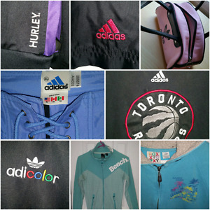Lots of Adidas & other brand names! *Low prices*