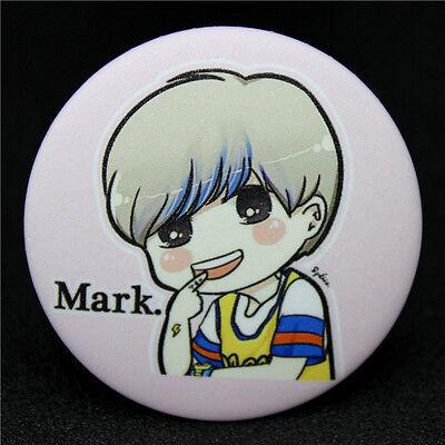 Fashion KPOP GOT7 Mark Q edition style Badge Brooch Chest Pin Souvenir Gift