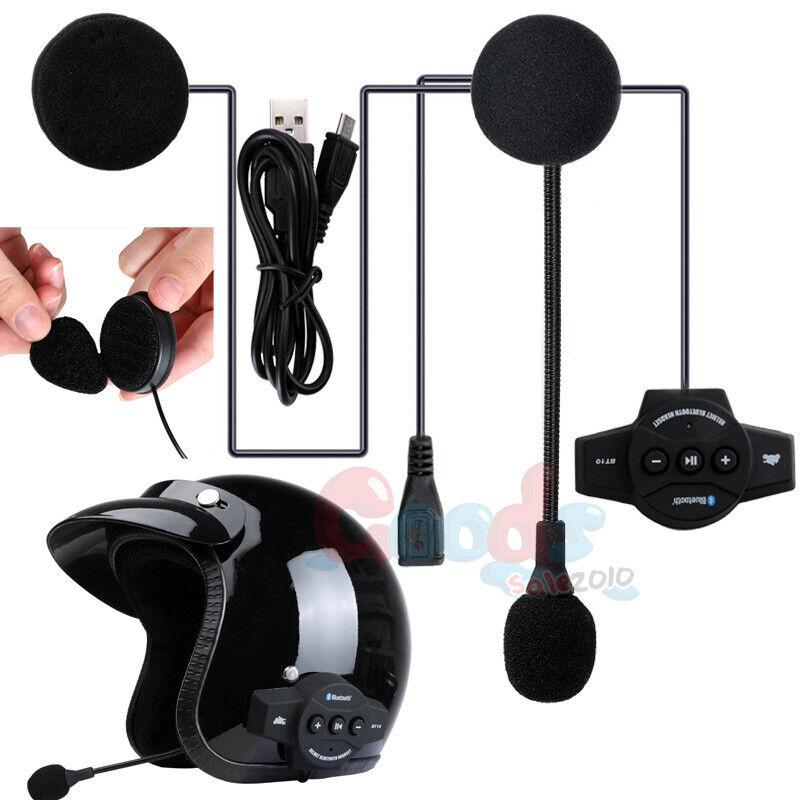 Helmet Headset Speaker Headphone for Bluetooth Motorcycle Intercom Interphone