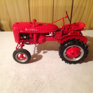 Collectible tractors and cars