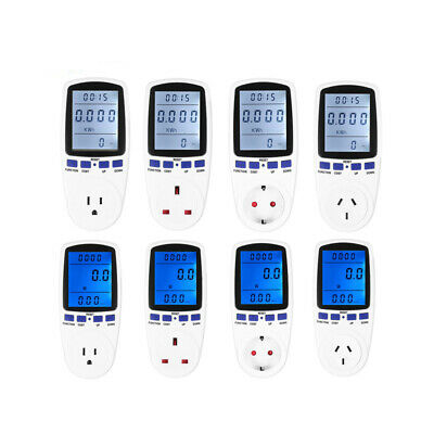 Lcd Digital Voltage Meter Watt Volt Tester Electronic Energy Power Socket Tool
