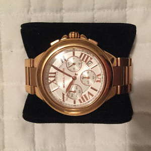Authentic Ladies Rose Gold Michael Kors Watch