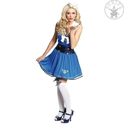 RUB 13609 Pin Up Matrosin Sailor Matrose Marine - Pin Up Kleid Kostüm