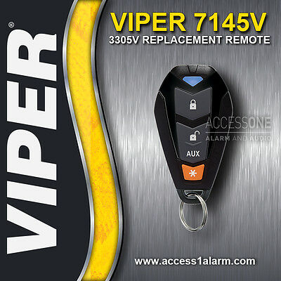 Viper 3305V Alarm Replacement Remote Control 7145V EZSDEI7141 1-Way - NEW