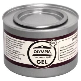 Olympia - Chafing Gel Fuel 200G - 12 X 2 Hour Burn